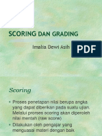 Scoring Dan Grading