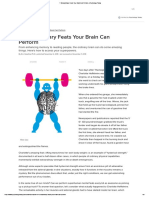7 Extraordinary Feats Your Brain Can Perform _ Psychology Today