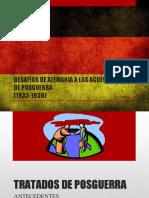 Desafios de Alemania a Los Acuerdos de Posguerra (1933-1938)