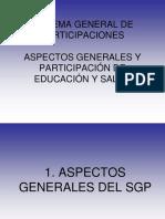 Sistemas General de Participaciones