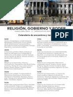 Religion Gobierno y Poder