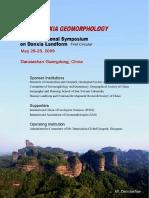 Danxia Geomorphology..