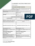 MARISOL 5 Propuesta Escrita de Acciones Preventivas y Correctivas a No Conformidad Detectada