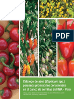 Catalogo Ajies Capsicum Spp