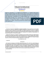 2015, Jur_TC (Pleno) Sentencia Num. 177-2015 de 22 Julio_RTC_2015_177