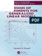 Design of Experiments for Generalized Linear Models - Kenneth G. Russell.pdf
