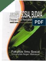 JURNAL SOSIAL BUDAYA