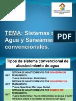 Sistema de Agua y Saneamiento Convencionales