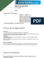 El Estar de La Organización