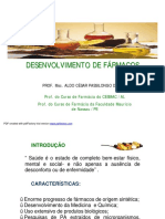 Desenvolvimento de Farmc3a1cos