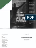 Ankersmit, Frank - La Experiencia Historica Sublime II (Cap 1 Epistemología y Experiencia).pdf