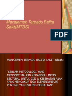 Manajemen Terpadu Balita Sakit (Mtbs)