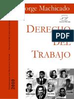 Derecho Del Trabajo Jorge Machicado