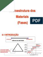 microestrutura dos materiais