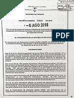 Decreto 1496 de 2018 Sistema Globalmente Armonizado.pdf