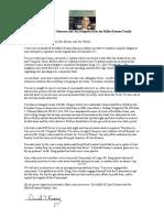 "Public Statement from the Miller & Liko Kenney Family Regarding the Casey Sherman & John Stimpson Huckster Movie ""Franconia Notch."""
