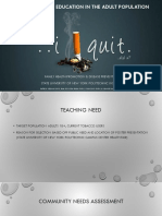 smoking cessation ppt