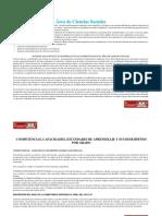 Área de Ciencias Sociales Competencias,Capacidades y Desempeños