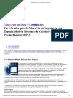 Certificados MIP-V _ Tecnológico de Monterrey
