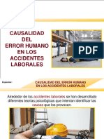MUESTRA-CAUSALIDAD Del Error Humano en Los Accidentes Laborales