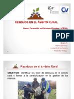 Residuos en El Ámbito Rural