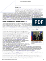 Foreign Relations of Russia - Wikipedia 2