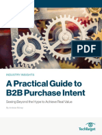 A Practical Guide to B2B Purchase Intent