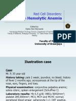 13. Immune Hemolytic Anemia