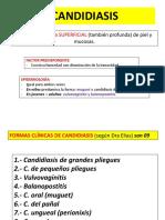 CANDIDIASIS Pitiriasis Versicolor Eritrasma
