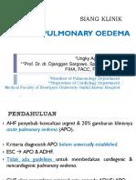 25. Acute Lung Edema (Pulmo)