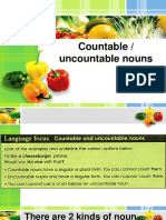 Expressions of Quantity Countable and Uncountable Nouns (1)