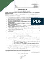 Convocatoria Por Parte de La Junta Electoral Leon 2010