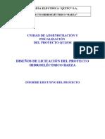 20030729034200. Resumen Ejecutivo Proyecto Baeza (1)
