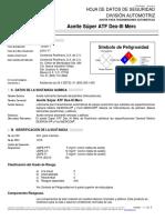 1. Alambre Tubular Flux Core Hobart Fabco 803 MSDS