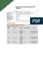 09. Annexure [9] Information_Security_Checklist_RFP TemplateV4.2.2