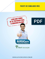 03-01 Alfacon Tecnico Do Seguro Social Inss Simulados Varios Professores