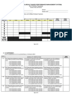 Checklist for PPST RPMS Rating TI III 3 1 1