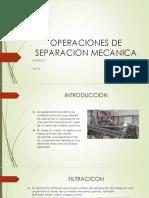 Operaciones de Separacion Mecanica