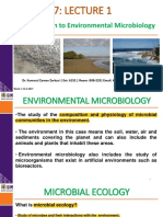 Introduction to Environmental Microbiology
