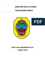 PDSA Bank Darah 2018