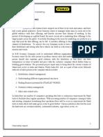 Stanley Internship Report