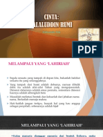 144. Filsafat Cinta - Jalaluddin Rumi