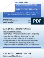 Text Information and Media Part1