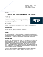 Bridge Load Rating, Permitting and Posting