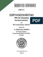 SuryaSiddhanta