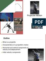2 -D Projectile Motion
