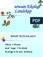 2. Lecture_Landscape Ecology Management