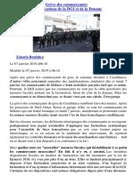 Grève Des Commerçants