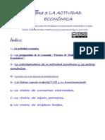 TEMA 3 La Actividad Economica y La Tabla Input Output