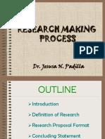 Dr. Padilla's Presentation